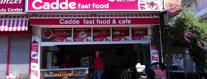 Cadde Fast Food is one of Gezdim gördüm.