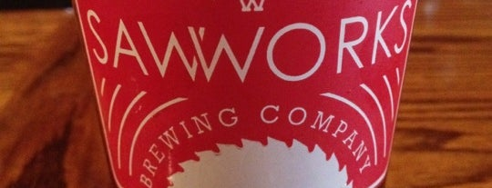 Saw Works Brewing Company is one of My Visited Breweries.