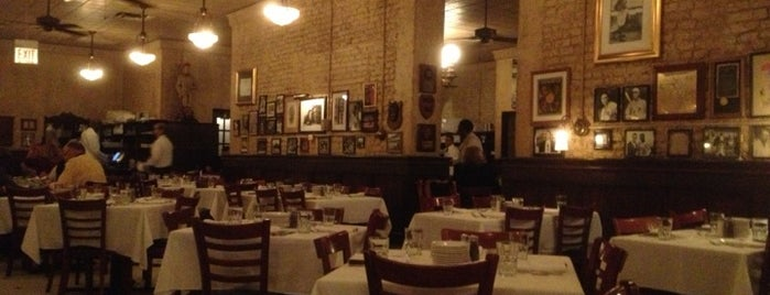 Harry Caray's Italian Steakhouse is one of Chicago Bulls Bars in Chicago.