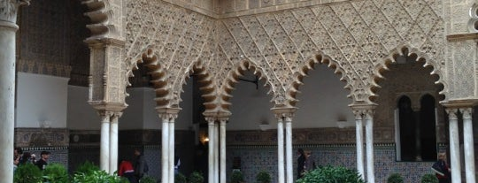 Real Alcázar de Sevilla is one of World Heritage Sites!!!.