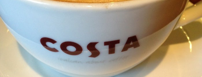 Costa Coffee is one of hotspots.