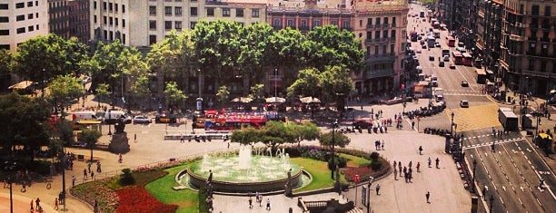 Plaza de Cataluña is one of My Barcelona!.