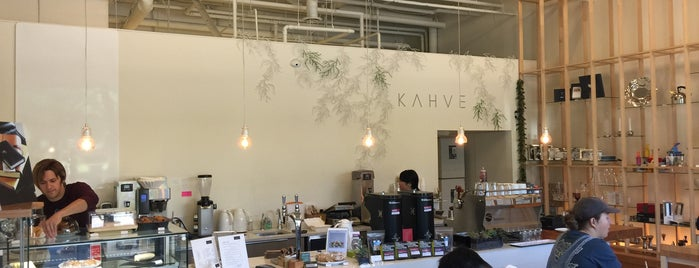 KAHVE is one of World Coffee Places.