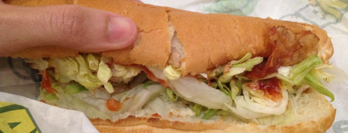 SUBWAY is one of NEU Food.