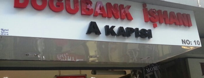 Doğubank İşhanı is one of Rugi.