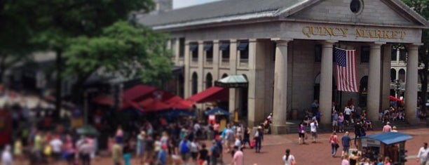 Quincy Market is one of Boston 2013.