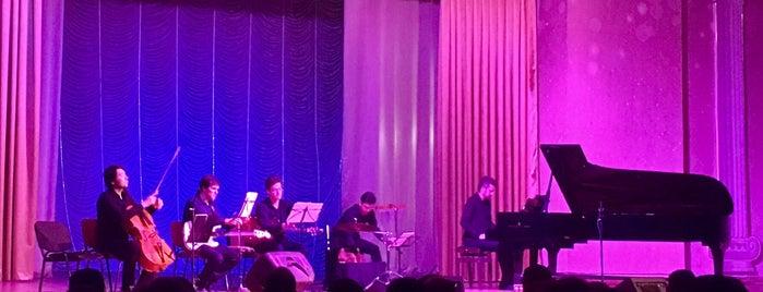 Қазақконцерт / Казахконцерт / Kazakhkontsert is one of Places to listen to live music in Almaty.