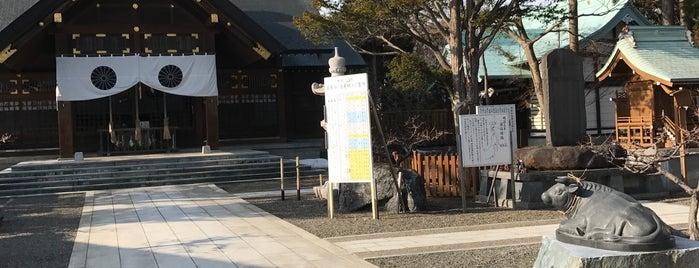 刈田神社 is one of 地元観光案内.