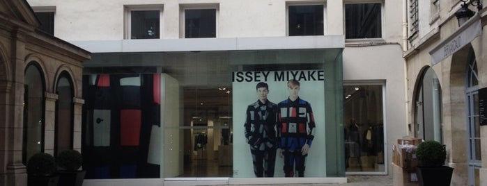 Issey Miyake is one of Vogue Fashion Night Out 2012.