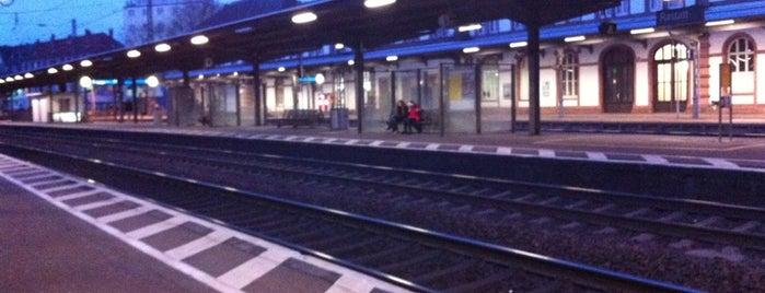 Bahnhof Rastatt is one of Karlsruhe + trips.