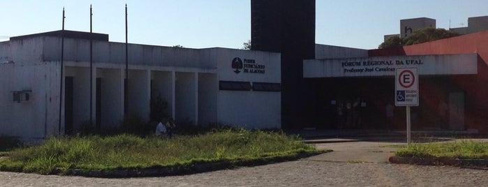 Fórum Regional da UFAL is one of prefeitura.