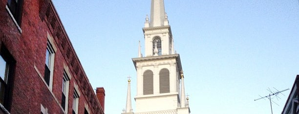 The Old North Church is one of Boston.