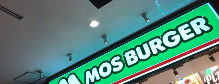 MOS Burger is one of 地元で行く場所(流山市).