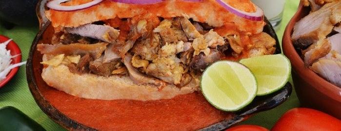 Las Diablas Tortas Ahogadas Y Tacos De Canasta is one of Comer en Querétaro.