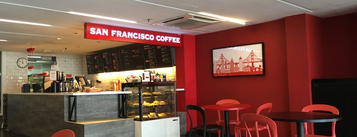 San Francisco Coffee is one of makan @ KL #16.