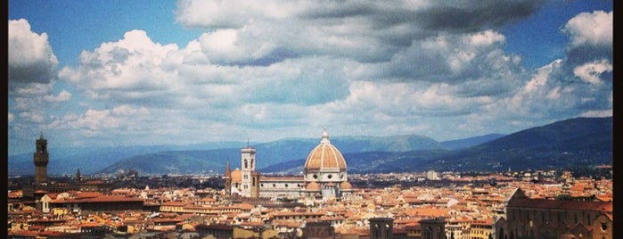 Piazzale Michelangelo is one of Italy 2014.