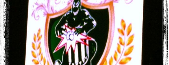 G.R.C.E.S. Mancha Verde is one of Escola de Samba.