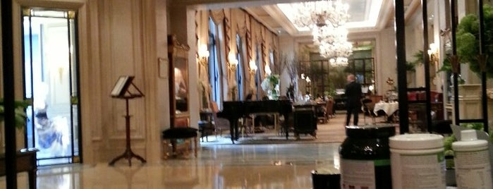 Four Seasons Hotel George V is one of Paris - best spots! - Peter's Fav's.