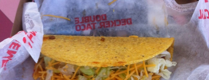 Taco Bell is one of Favorite Food.