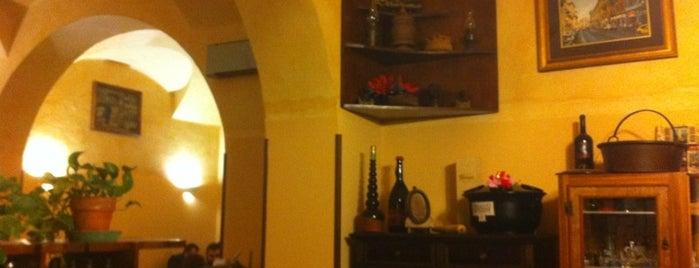 Antica Hostaria Della Lanterna is one of consigli che meritano..