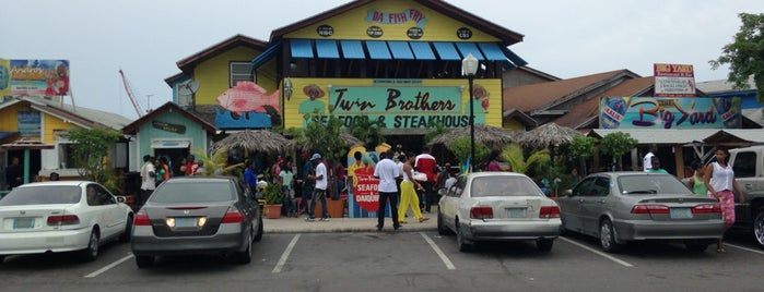Fish Fry is one of The 15 Best Places for Seafood in Nassau.