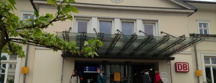 Bahnhof Lüneburg is one of Bahnhöfe Deutschland.