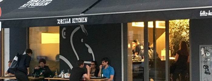 Gorilla Kitchen is one of Gesünder Essen In Wien.