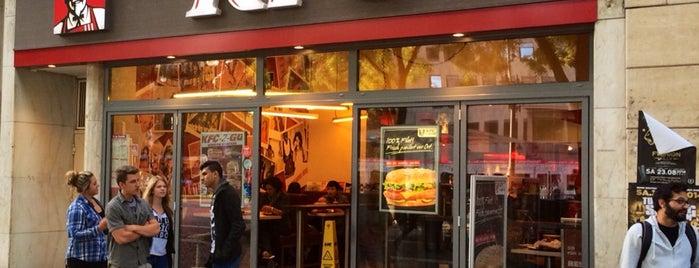 Kentucky Fried Chicken is one of Mein Deutschland.