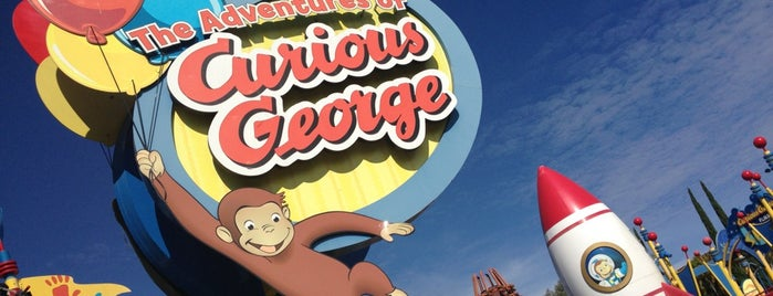 Curious George is one of Universal Studios Hollywood Loop.