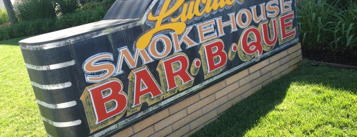 Lucille's Smokehouse Bar-B-Que is one of EATS! -_-.