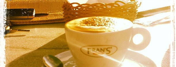 Fran's Café is one of Senhas wifi Curitiba.
