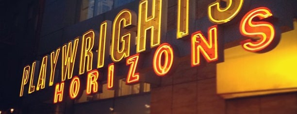Playwrights Horizons is one of Manhattan Theatres.