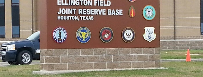 Ellington Air Force Base (Ellington Airport) is one of My places.