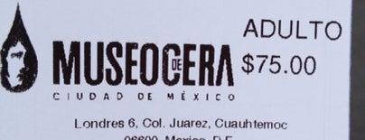 Museo de Cera is one of ¡Cui Cui ha estado aquí!.