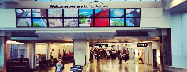 Buffalo Niagara International Airport (BUF) is one of 20 favorite restaurants.