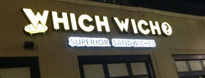 Which Wich? Superior Sandwiches is one of To Do Restaurants.