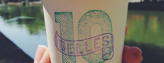 Ten Belles is one of Paris - Coffee.
