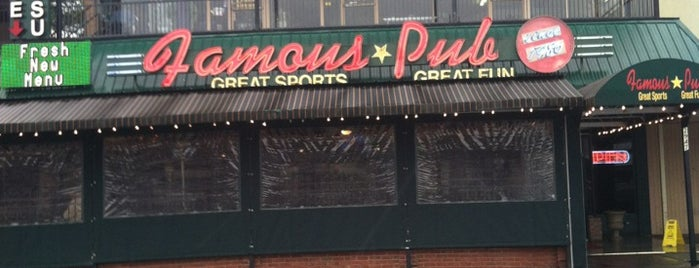 Famous Pub & Sports Palace is one of Bars I've been to.