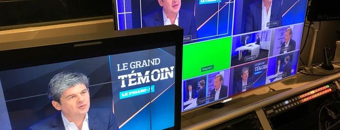 Le Figaro is one of Bureaux à Paris.