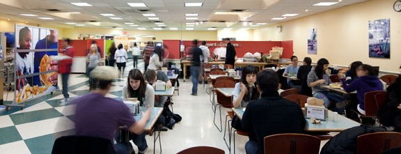 NYU Downstein Dining Hall is one of Dining.