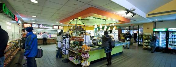 NYU Upstein Food Court is one of Dining.