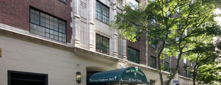 NYU Brittany Residence Hall is one of A Virtual Map of NYU Student Life.
