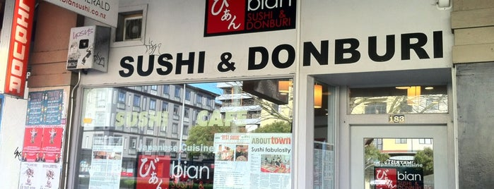 Bian Sushi is one of Auckland To-Do List.