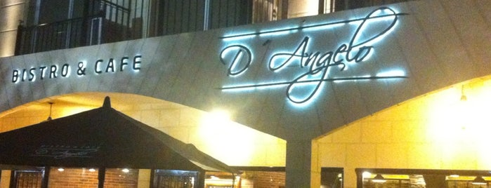 D'Angelo Bistro & Cafe is one of Lugares pesados!.