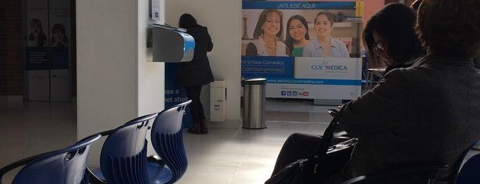 Colmedica Oficina Admistrativa is one of Aquí Se debería Poder Rayar las Paredes.