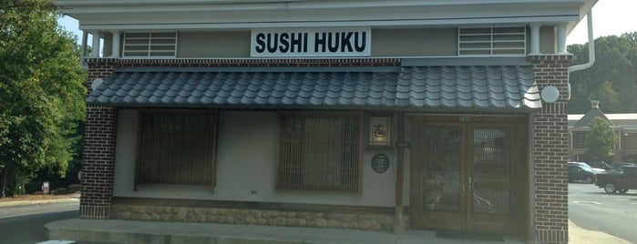 Sushi-Huku Japanese Resturant is one of Places I love.