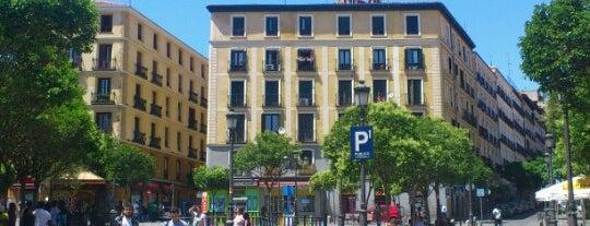 Plaza de Lavapiés is one of Madrid.