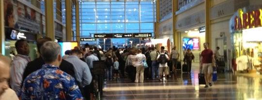 TSA - DCA Security (Gates 10-22) is one of HAVALİMANLARI.