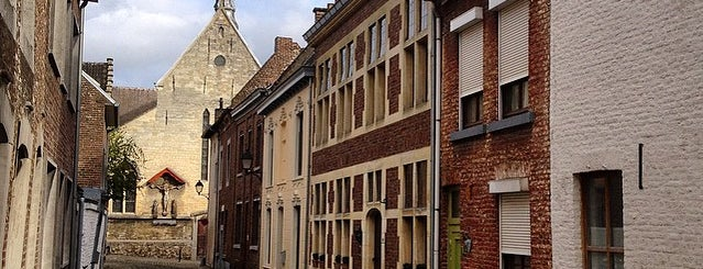 Begijnhof is one of Belgium / World Heritage Sites.