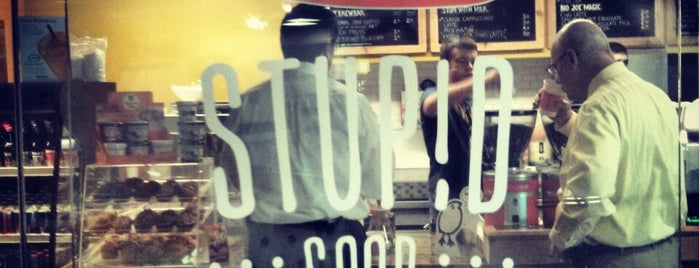 Stupid Good Coffee is one of Central Dallas Lunch, Dinner & Libations.